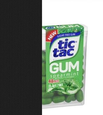 2 Packs of Tic TAC Gum - SPEARMINT - 23.3g Each Pack - Chewing Gum - NEW