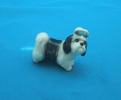 Hagen Renaker Miniature SHIH TZU MANDY Dog Figurine  **SO CUTE**