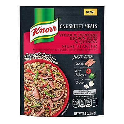 Knorr One Skillet Meals Steak & Peppers Brown Rice & Quinoa Meal Starter