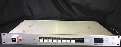 Adrienne Electronics Corporation Model AEC-1 10x1 Routing Switcher