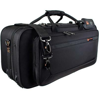 Protec Trumpet Rectangular PRO PAC Case with Mute Storage Compartment, Model...