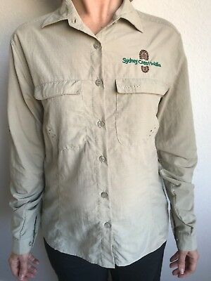 ***As New*** Macpac Lightweight Long Sleeve Hiking Shirts Womens