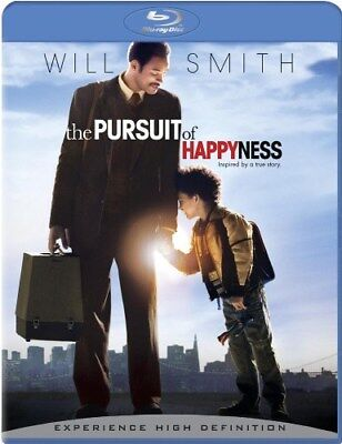 THE PURSUIT OF HAPPYNESS New Sealed Blu-ray Will Smith