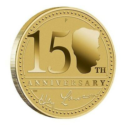 2017 150th Anniversary Henry Lawson Australia $1 One Dollar UNC Coin Perth Mint