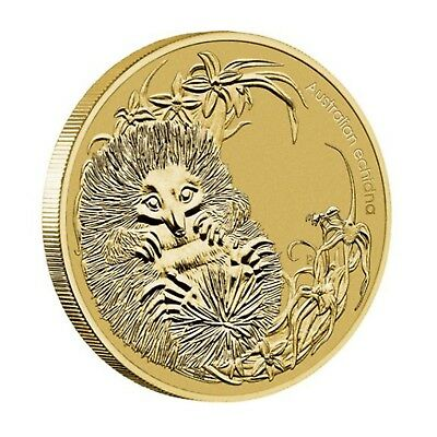2013 Bush Babies Echidna Australia $1 One Dollar UNC Coin Perth Mint