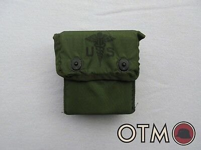 Original US GI Military Individual First Aid Kit Alice Medical Pouch + Contents