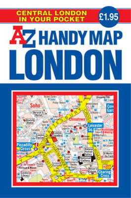 Handy Map of Central London (Street Maps & Atlases), Geographers A-Z Map Company