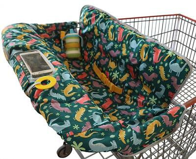 Shopping Cart Cover for Baby or Toddler | 2-in-1 High Chair | Universal Fit...
