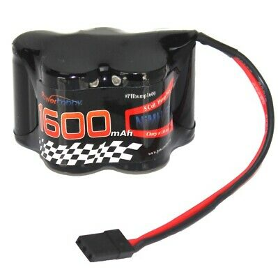 Powerhobby 5 Cell 6V 1600mAh NiMH Hump Receiver Battery Pack For T-Maxx 2.5 MGT