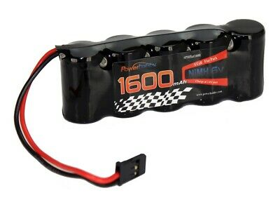Powerhobby 5 Cell 6V 1600mAh NiMH Flat Receiver Battery Pack For Traxxas Slayer