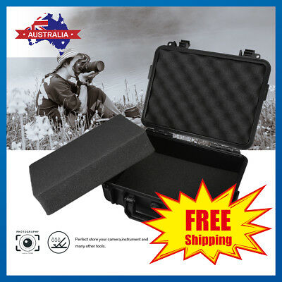 Waterproof Plastic Hard Case Bag Tool Storage Box Portable Organizer Travel AU