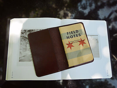 Hand Sewing Leather Journal Cover for Field Notes, Handmade Field Notes Cover