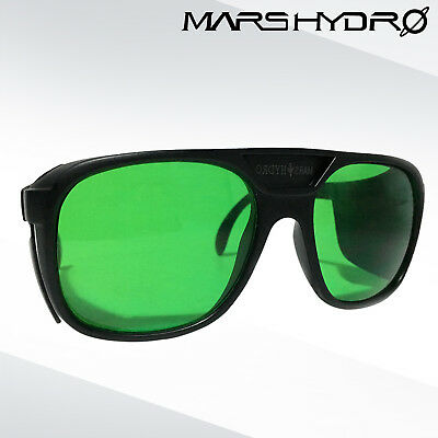 Mars Hydro Led Grow Glasses Anti-UV Color Correction Glasses for Led Grow Light