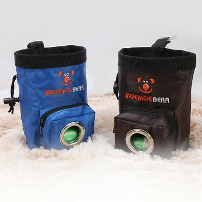 Dog Treat Training Pouch Pet Hands Free Training Waist Bag Pet Toys Food Pouch