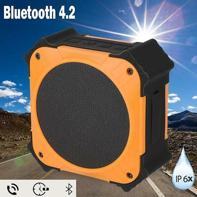Portable Wireless Bluetooth Solar Powered Outdoor Speaker IPX6 Waterproof AUX CO