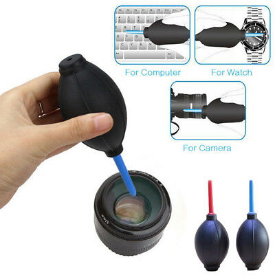Rubber Bulb Air Pump Dust Blower Cleaning Cleaner Tool For Digital Camera Lens