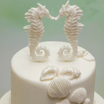 Seahorse Fondant 3D Silicone Chocolate Mould Cake Molds LG
