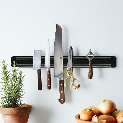 Deluxe Large Magnetic Knife Holder Kitchen Rack Storage Organizer Wall Mounted