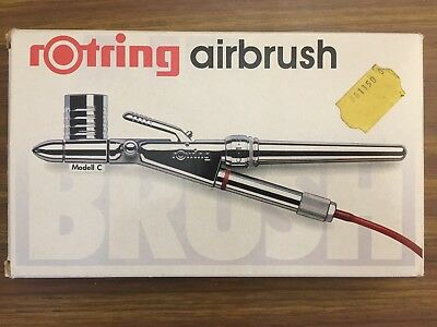 airbrush / Aérographe Rotring Modell / modèle C NOS Neuf