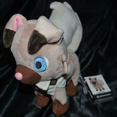 "9"" Rockruff Poké Plush Dolls Toys Official Pokemon Center Poke Standard Size"