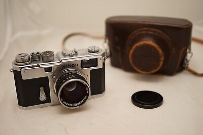 Nikon S3 Rangefinder Camera With Black 50Mm 1.4 Lens