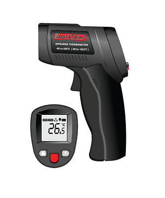 SmartTemp - Digital InfraRed Thermometer Measure Stove Temperature from distance