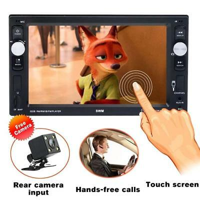 Double Din Car stereo with bluetooth Radio Audio 6.2 Inch High Definition...