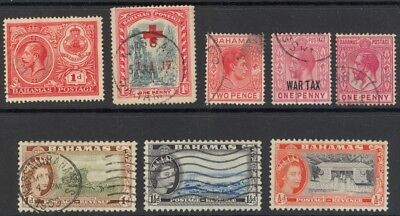 Bahamas - Selection Of 8 Stamps -Used
