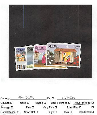 Lot of 26 St. Kitts MNH Mint Never Hinged Stamps #107527 X