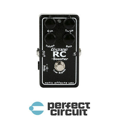 Xotic Bass RC Guitar Booster Pedal EFFECTS - NEW - PERFECT CIRCUIT