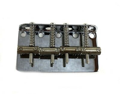 Fender Vintage Style Bass Bridge 4 String 0990804100 Chrome