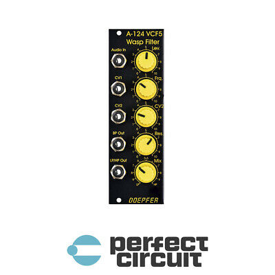 Doepfer A-124 VCF5 Wasp Filter Special Edition EURORACK NEW - PERFECT CIRCUIT