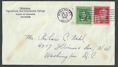 1942 Oklahoma Agricultural & Mechanical College Stillwater Ok School Of Commerce