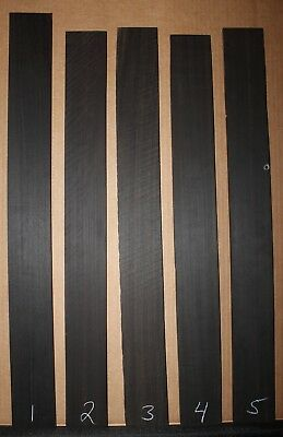 Ebony, Gabon, select grade, bass fingerboard blank. Sold individually