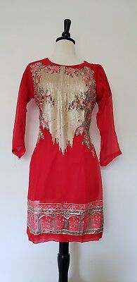 Pakistani / indian net kurti.m size