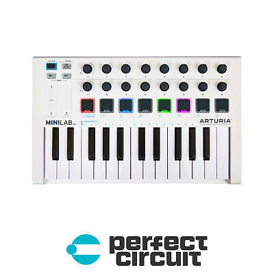 Arturia Minilab MKII 25-Key USB Keyboard CONTROLLER - NEW - PERFECT CIRCUIT