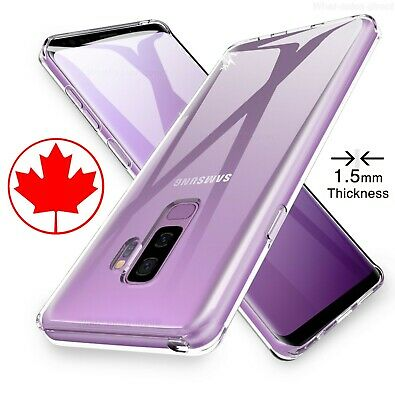 Premium Quality Clear Case for Samsung s9 / Plus Transparent - 1.5mm Thickness