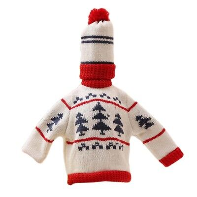 A Variety Of Styles Of Multi-Color Christmas Knit Sweater Wine Bottle Sets  OE