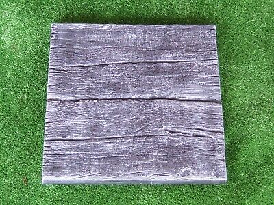 Log Railway Sleeper Paver Mould - Garden Yard Cement Concrete Stepping Stone NEW