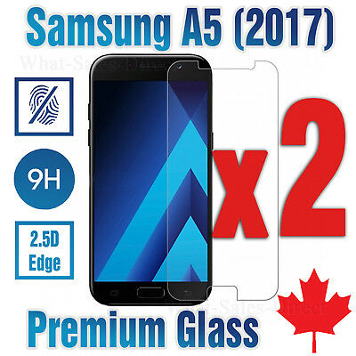 Tempered Glass Screen Protector For Samsung Galaxy A5 2017 (2 PACK) -Canada