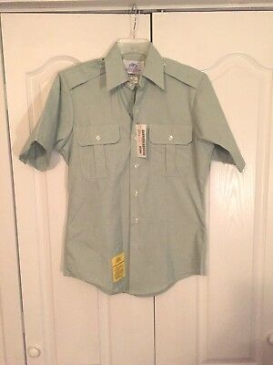 Shirt Us Army Dress Green Short Sleeve Class A B Uniform Mens