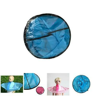 Kids Adult Foldable Hair Cutting Cloak Umbrella Cape Salon Home Hairdressing UK
