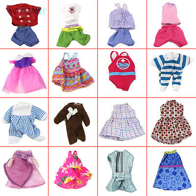 """Random Lovely Outfit Dress Skirt Pants Clothing Clothes For Barbie Kelly 4"""" Doll"""