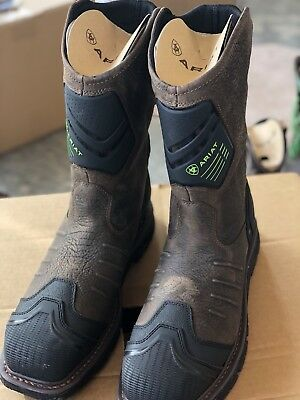 6cf706a8a980 MENS ARIAT CATALYST Vx H2O Composite Toe Leather Work Boots sz 11.5 ...  ariat