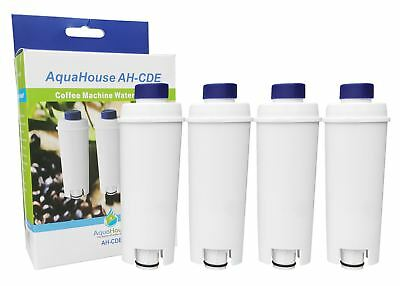 4 Compatible filter for DeLonghi water filter cartridge for Bean to Cup Espresso