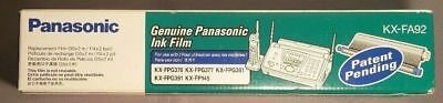 NEW! Genuine PANASONIC KX-FA92 Fax Replacement INK FILM