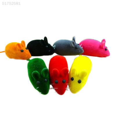 A9A2 350B Cute Little Mouse Squeak Sound Rat Playing Toy For Cat Kitten Pet Play