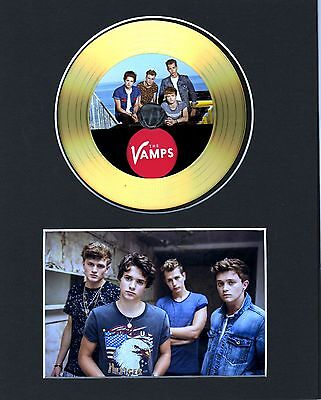 The Vamps Gold Disc Display #5