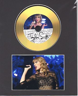 Taylor Swift Gold Disc Display #3