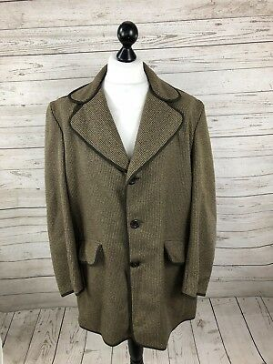 DUNN & CO Vintage Overcoat - 46 XL - Wool - Great Condition - Mens